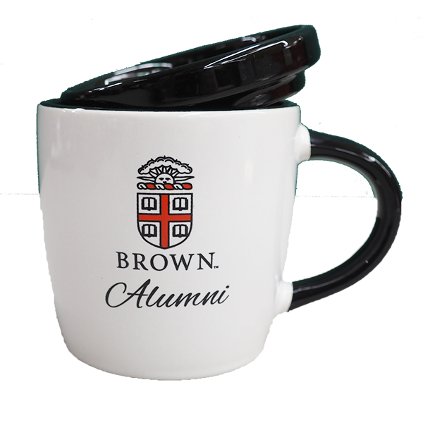 Image For 10oz White Alumni Coffee Mug with Lid and Seal