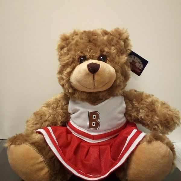 "Image For 12"" Cheerleader Bear - Red"