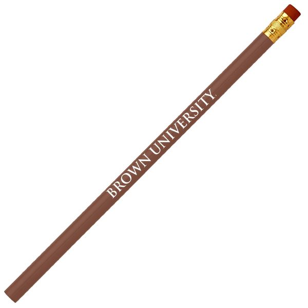 Image For 10pk Brown University Pencils In Brown