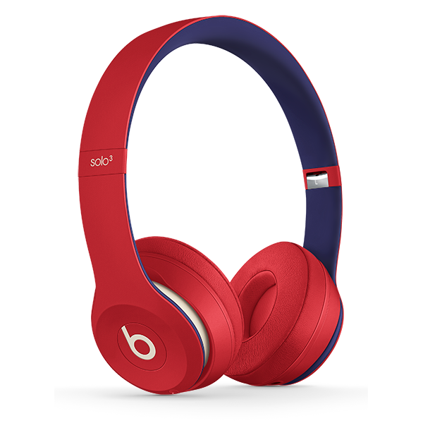 Image For Beats Solo³ Wireless Headphones - Club Red
