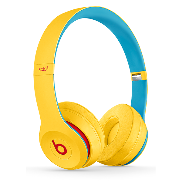Image For Beats Solo³ Wireless Headphones - Club Yellow