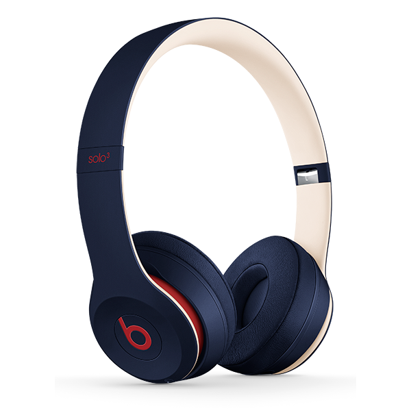 Image For Beats Solo³ Wireless Headphones - Club Navy