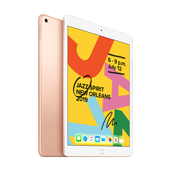 Cover Image For iPad - 128GB - Gold