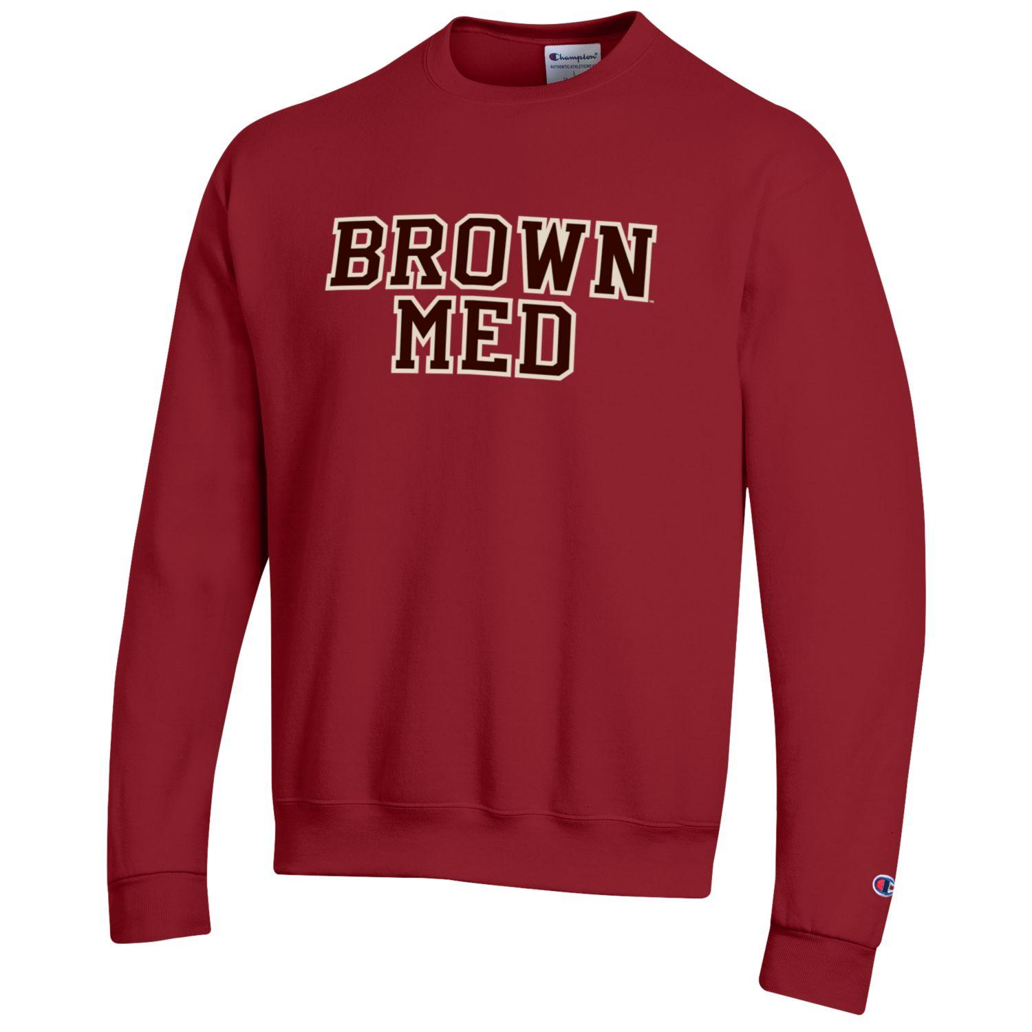 Image For Champion Brown Med Powerblend Cardinal Crew