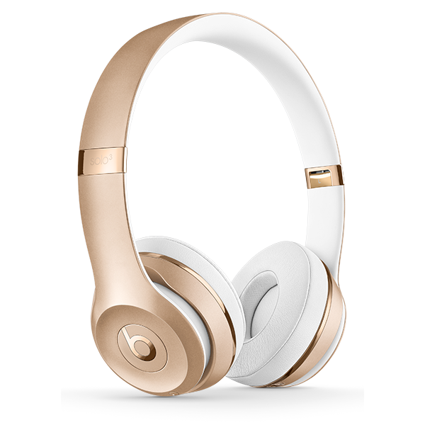 Image For Beats Solo³ Wireless Headphones - Satin Gold
