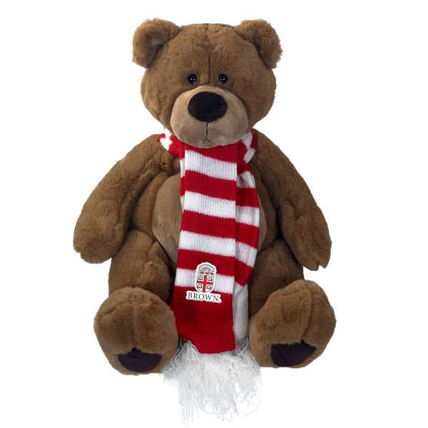 "Image For 11"" Bruno the Bear with scarf"