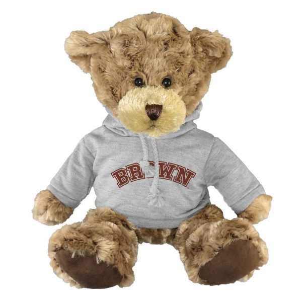 "Image For 10"" Charlie Bear with Grey Hoody"