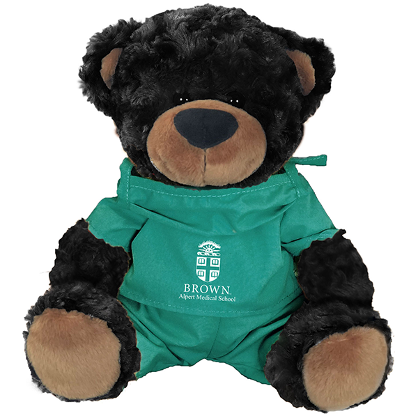 "Image For 10"" Bella & Beau Scrub Teddy Bears - Black or Brown"