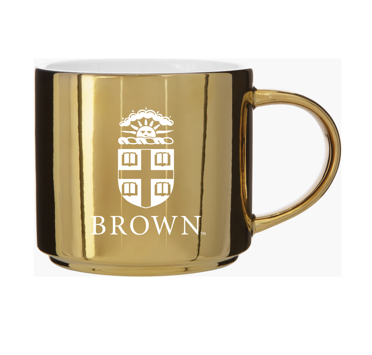 Cover Image For GOLD METALLIC CERAMIC MUG