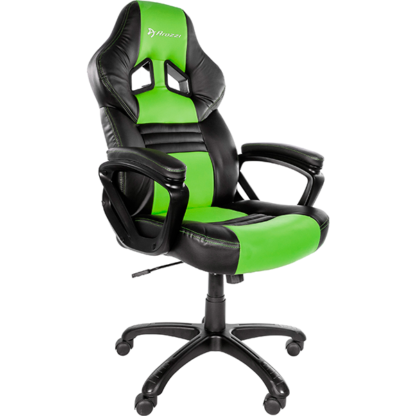 Image For Monza Basic Gaming Chair - Green or Red