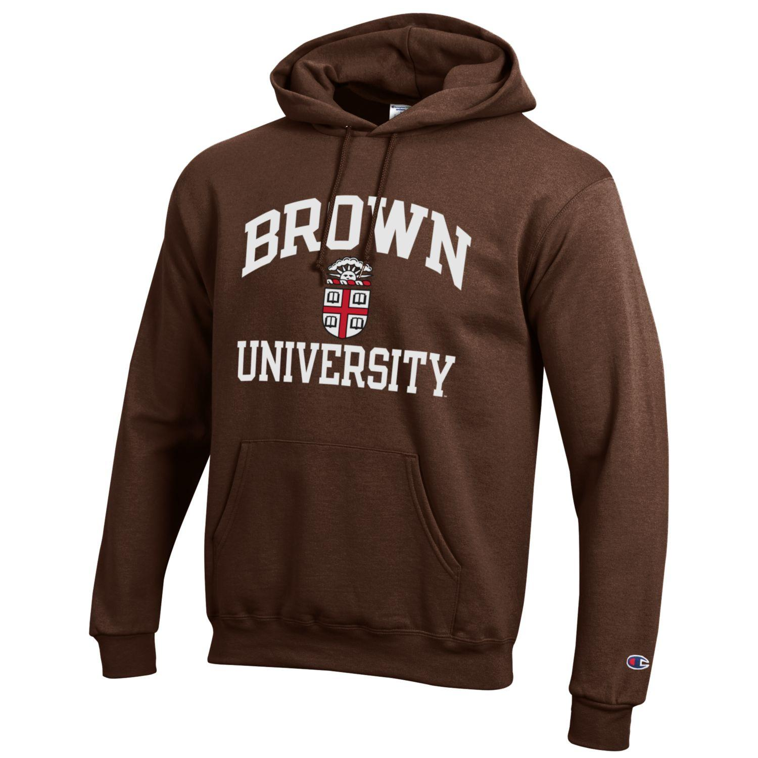 Image For Champion Powerblend Hood - Brown