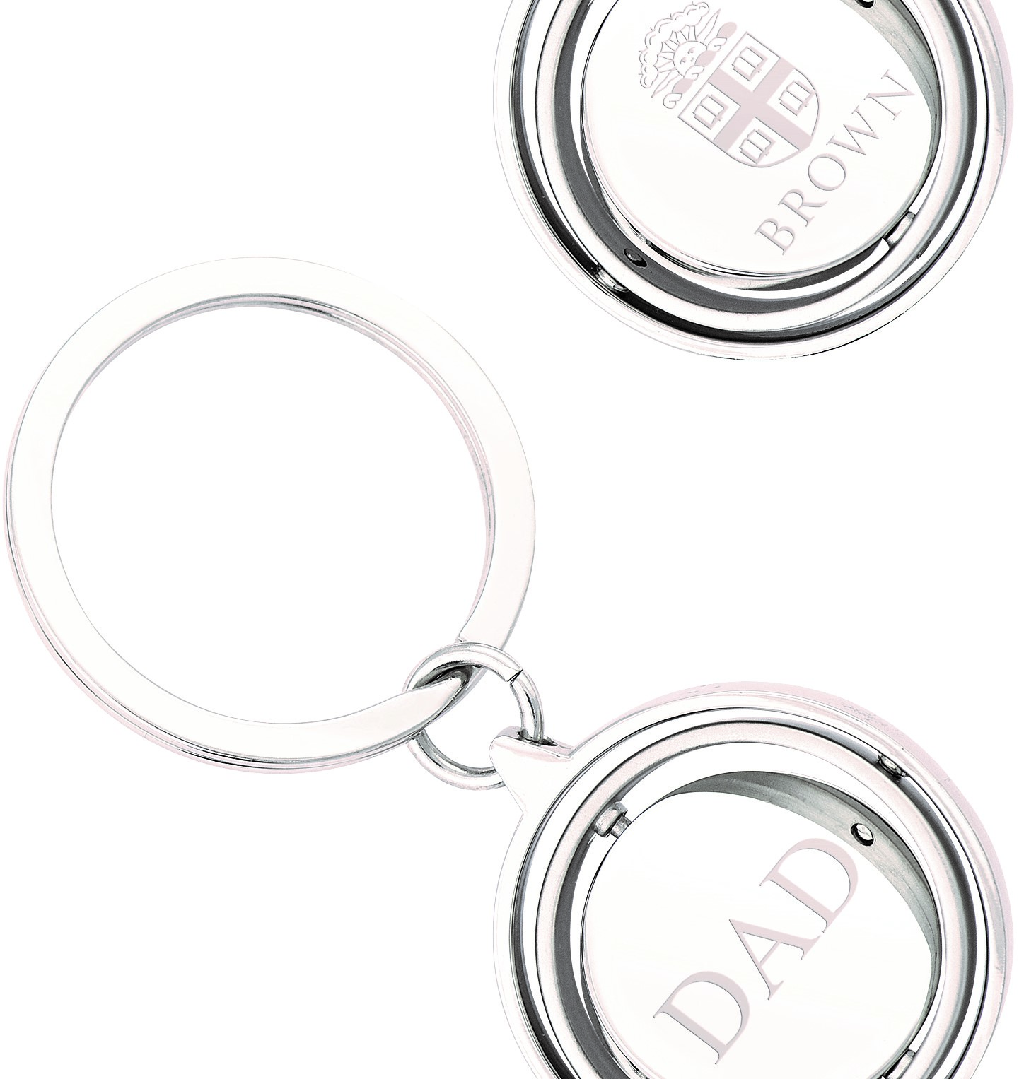 Image For Jardine Gimbal Spinner Keyring - Dad