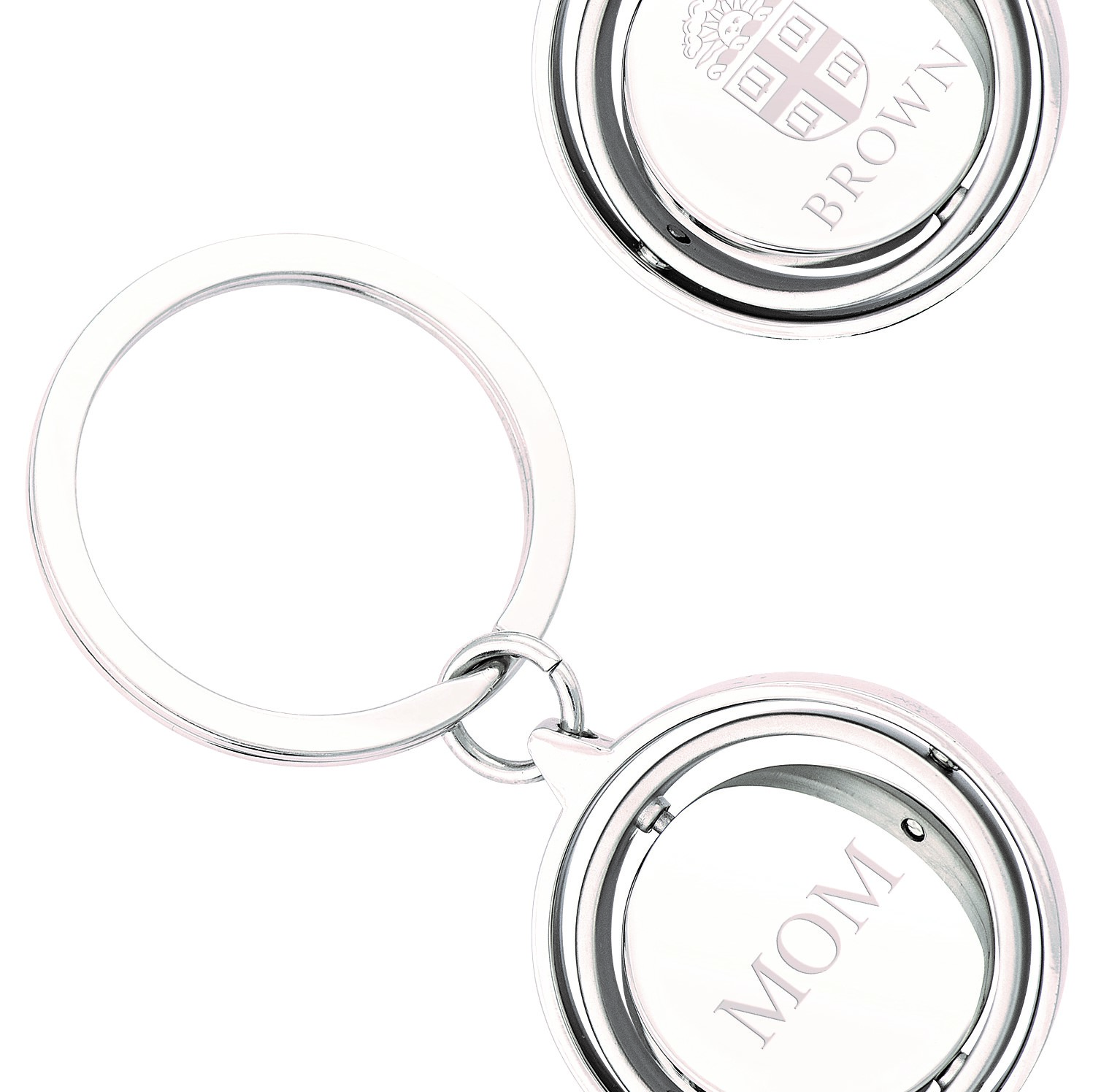 Image For Jardine Gimbal Spinner Keyring - Mom