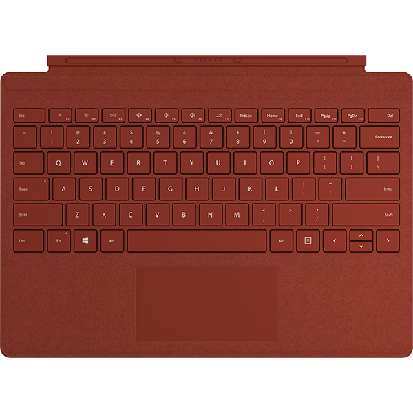 Image For Surface Pro Signature Type Cover - Poppy Red