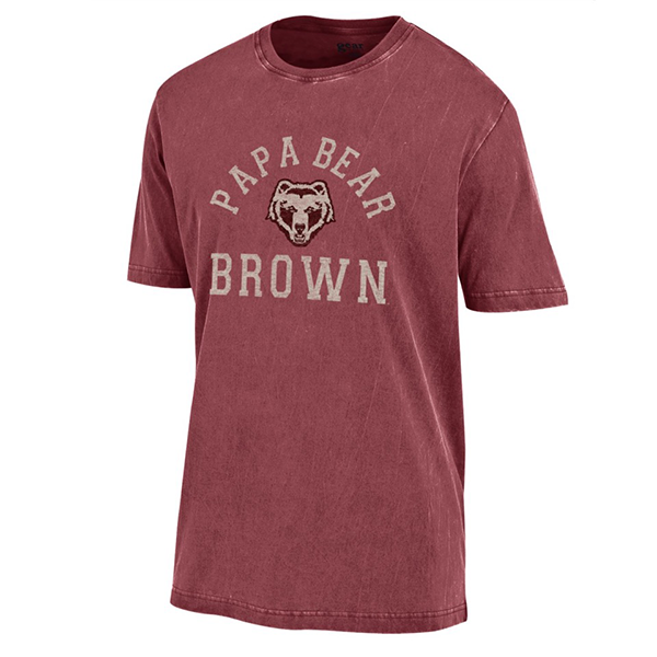 Image For Gear Short Sleeve Papa Bear Tee - Cedar
