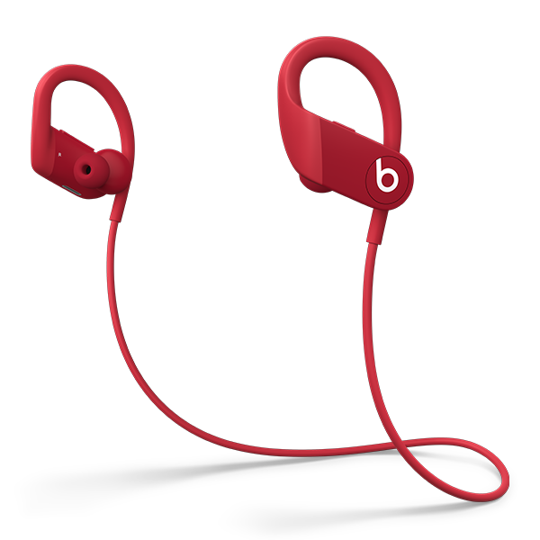 Image For Powerbeats High-Performance Wireless Earphones - Red