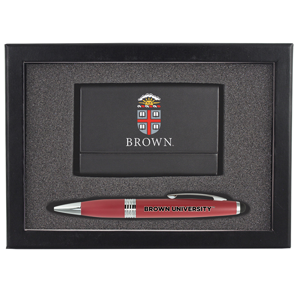 Image For Business Card Case & Pen Gift Set