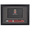 Business Card Case & Pen Gift Set Image