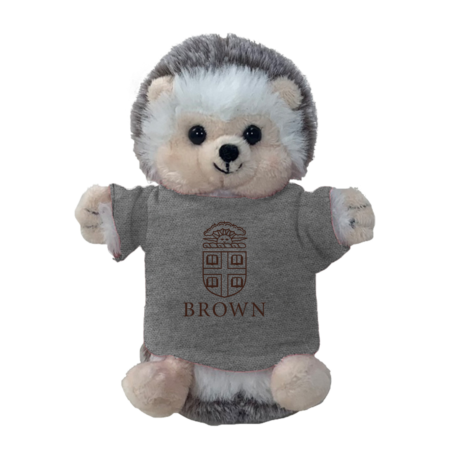 Image For Mascot Factory Plush - Cheeky Hedgehog w/Brown Tee