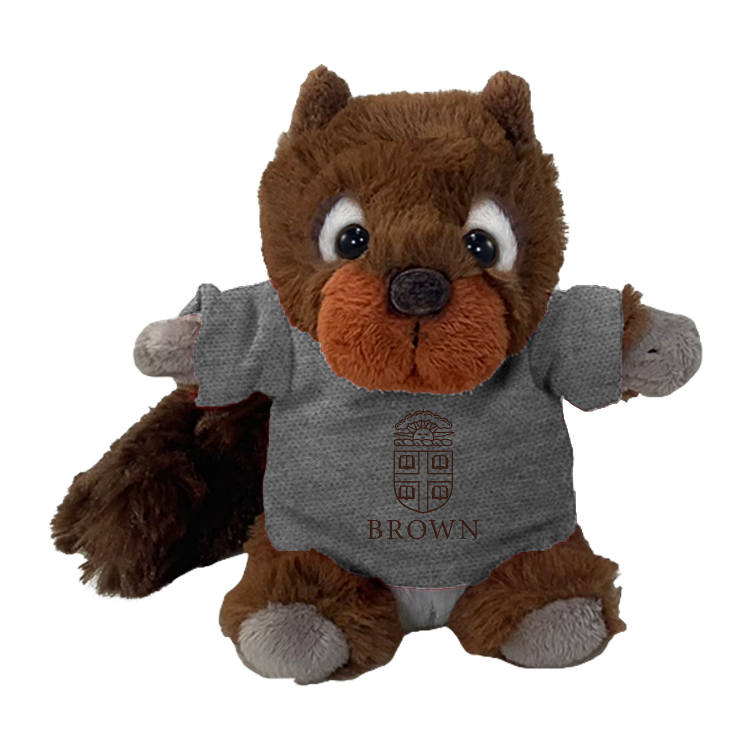 Image For Mascot Factory Plush - Cheeky Red Squirrel w/Brown Tee