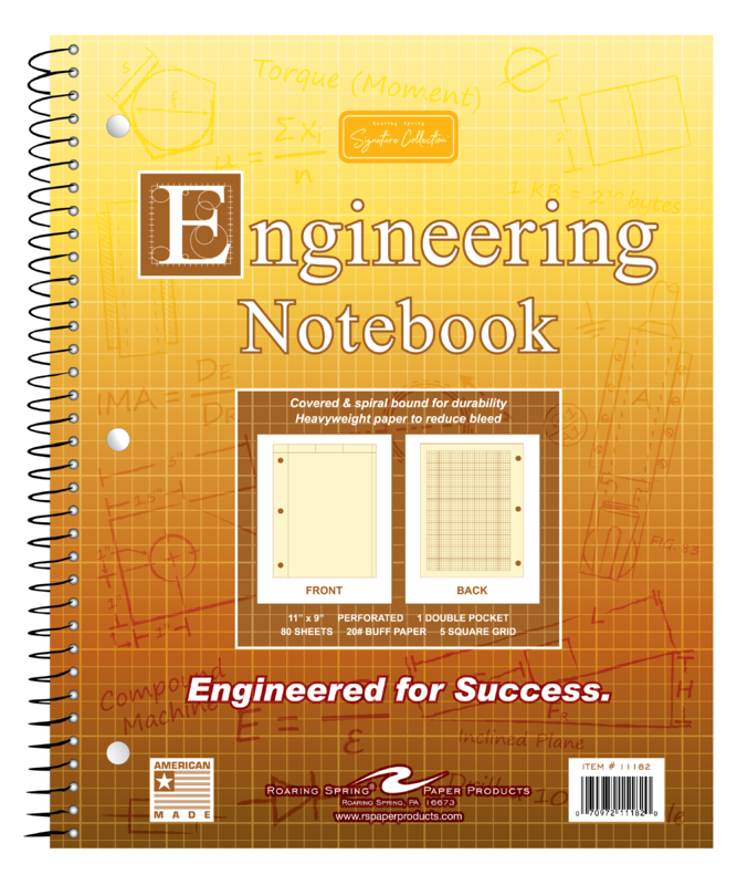 Image For Engineering Notebook - Buff Tint