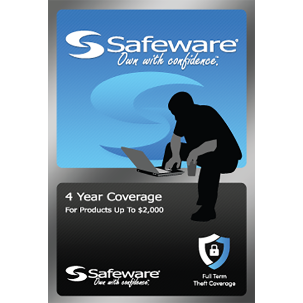 Image For Safeware 4 Year Coverage - For Products Up to $2000