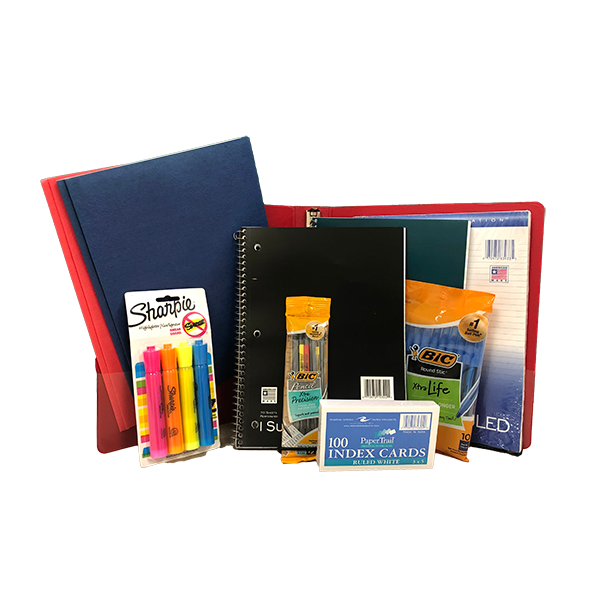 Image For School Supply Kit - non imprinted 10pack