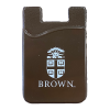 Silicon Cell Phone Card Holder - Brown Image
