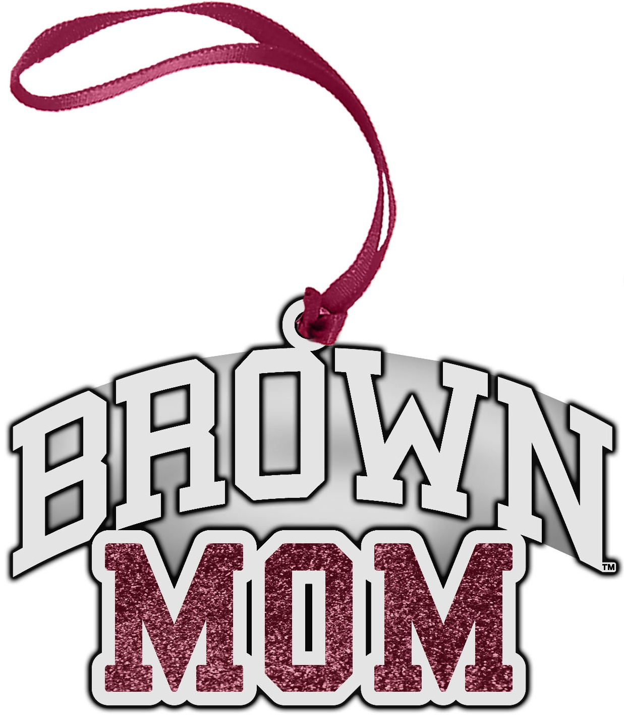 Image For Pewter Ornament - Mom
