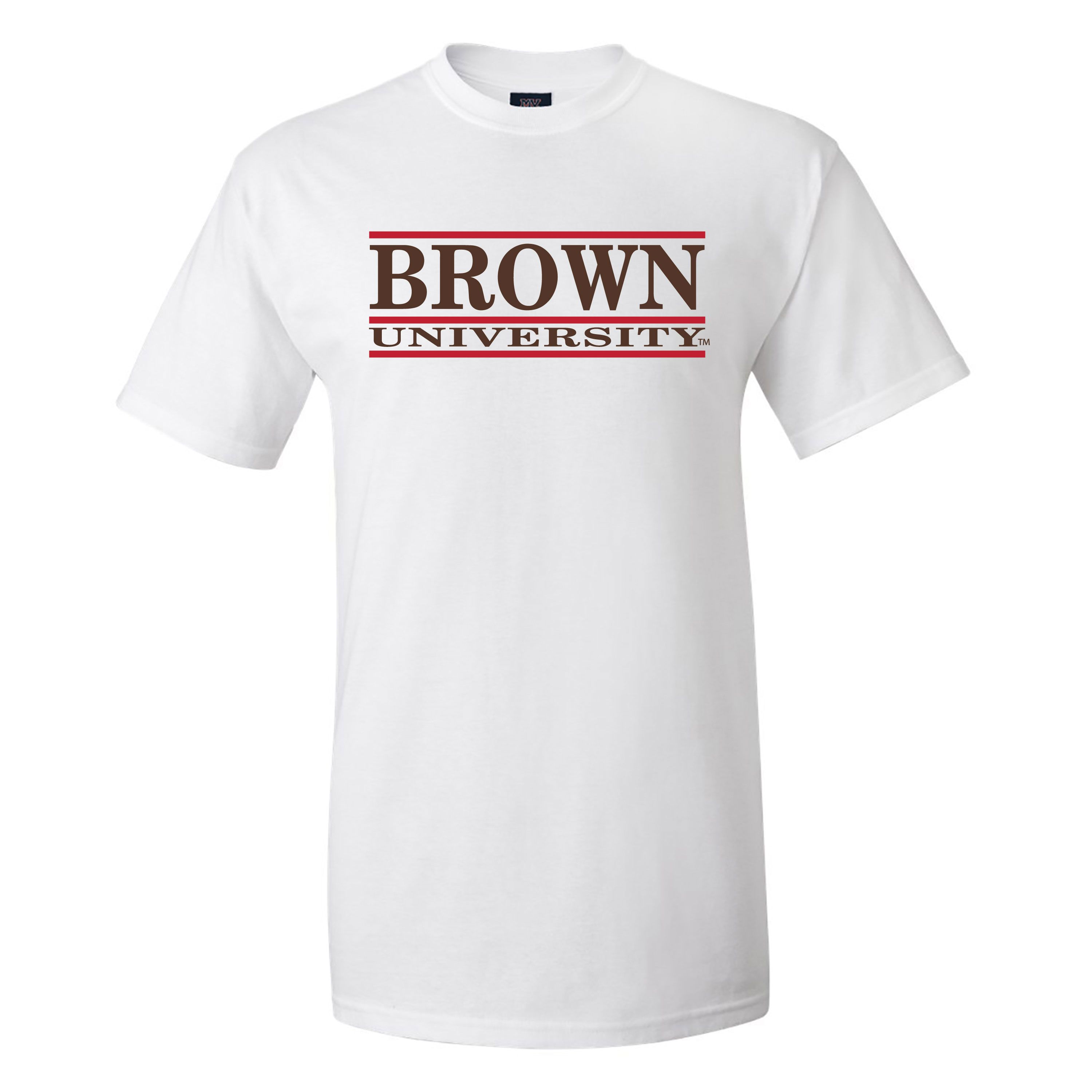 Image For MV Sport Brown University Cotton Tee