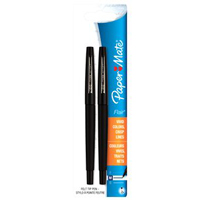 Image For Flair Fine-Point Pens - Black (2pk)