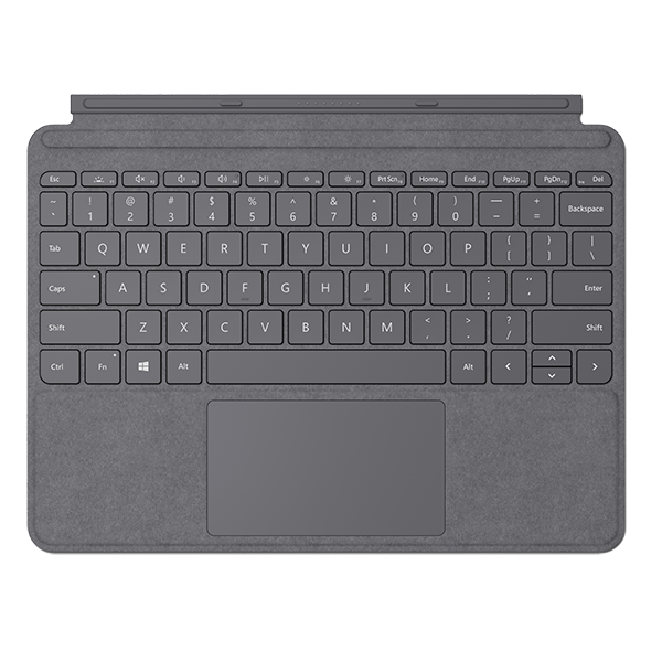 Image For Surface Go Type Cover - Light Charcoal