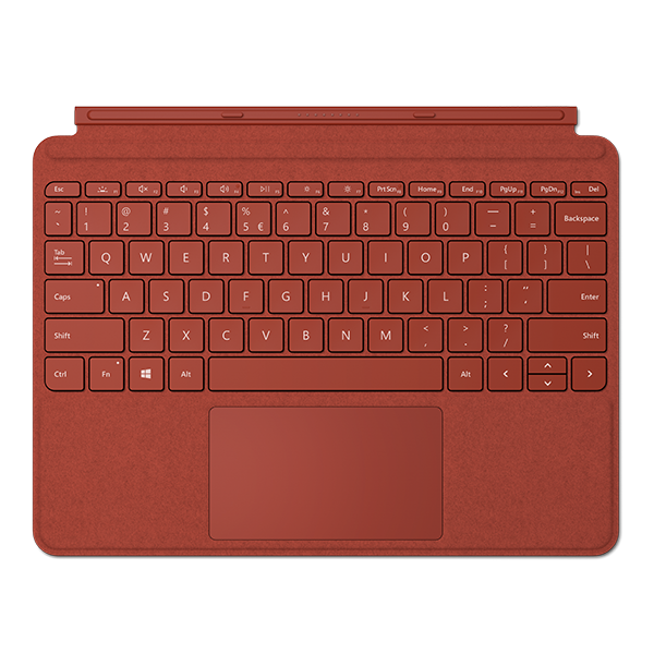 Image For Surface Go Type Cover - Poppy Red