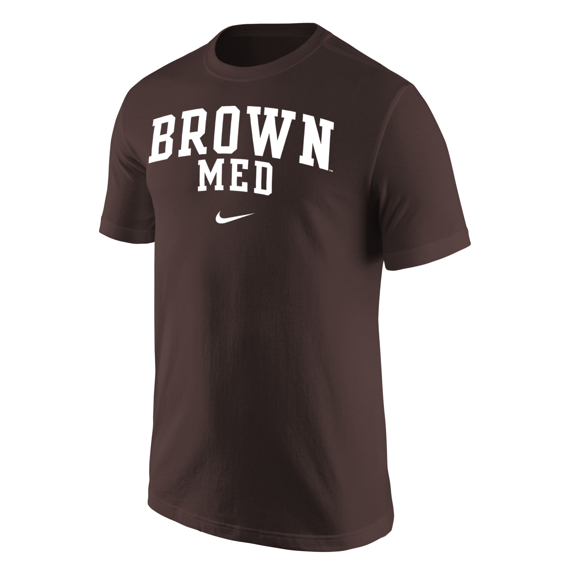Image For Nike BROWN MED Short Sleeve Tee
