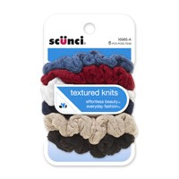 Image For SCUNCI Scrunchies - 6pk