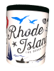 Rhode Island, The Ocean State Icon Mug Image
