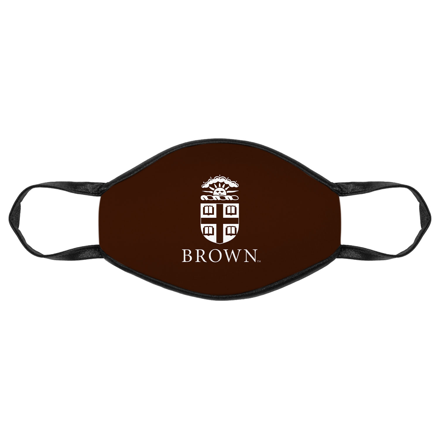 Image For The Promise Mask - Brown with White Crest