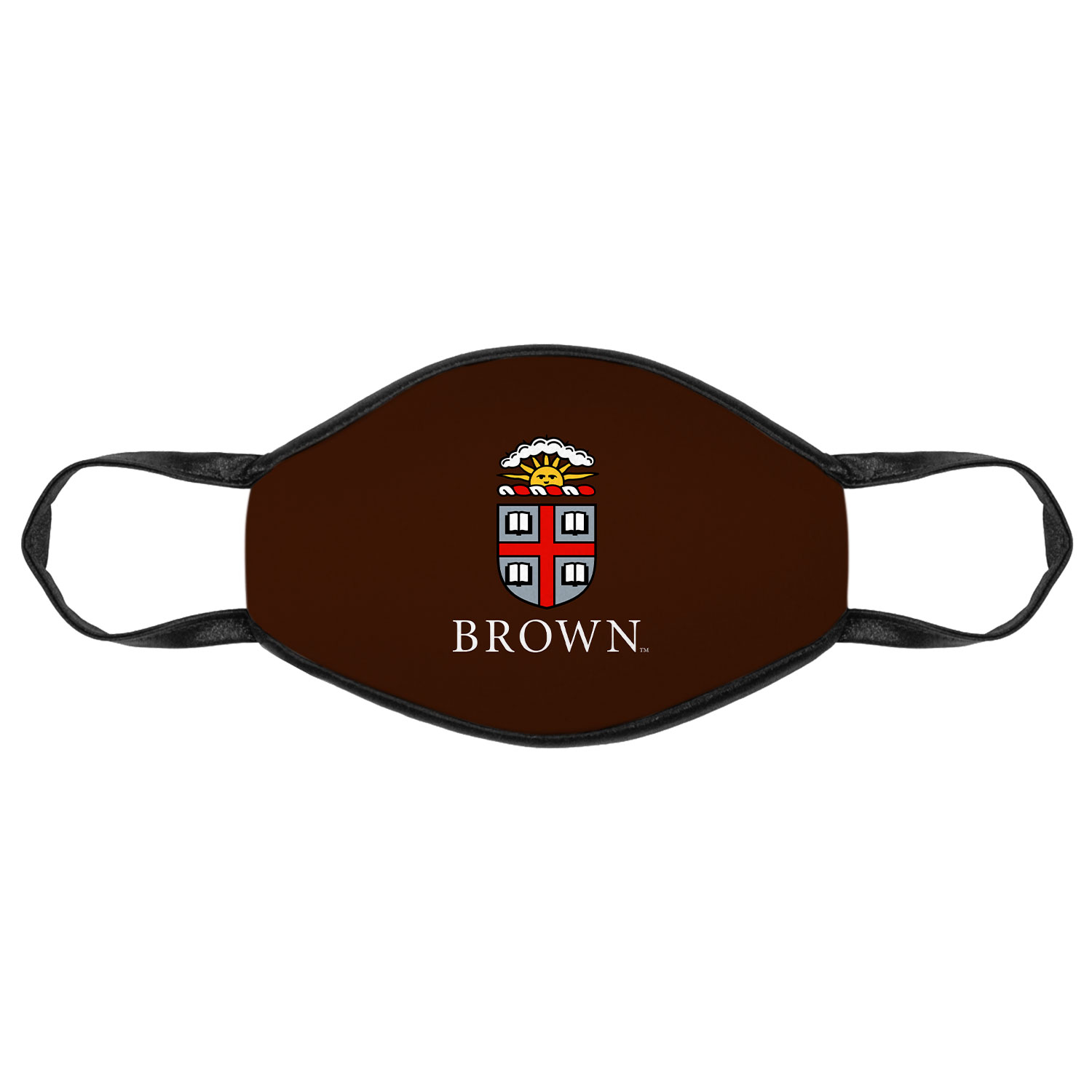 Image For The Promise Mask - Brown with Full Color Crest