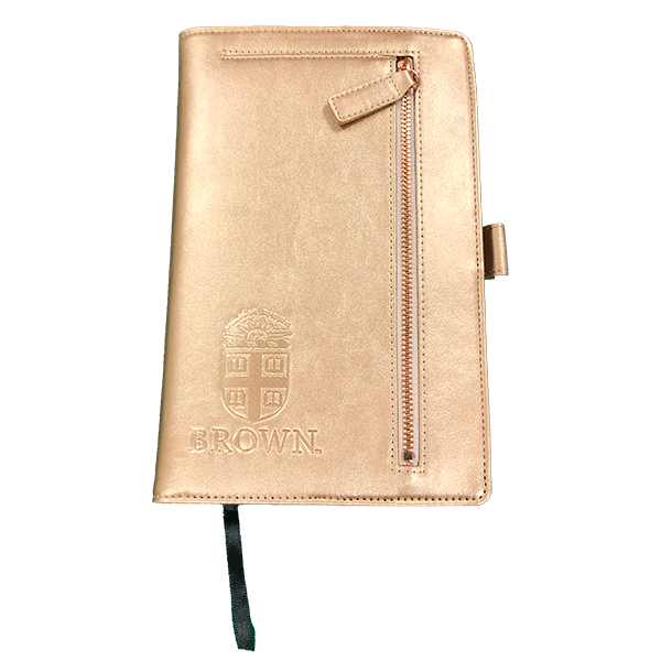 Image For Rose gold compact 5x8 padfolio
