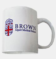 Image For Ceramic Mug - Alpert Medical School White Ceramic Mug