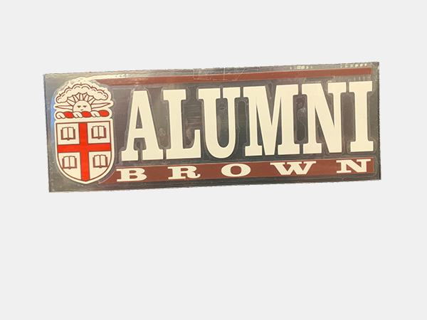 Image For Decal - Alumni Brown Seal - OUTSIDE