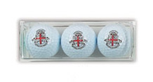 Image For Golf Balls with Seal  - Set of 3