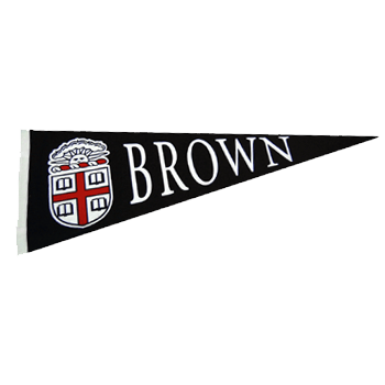 Image For Pennant - Brown Color Seal Horizontal Pennant