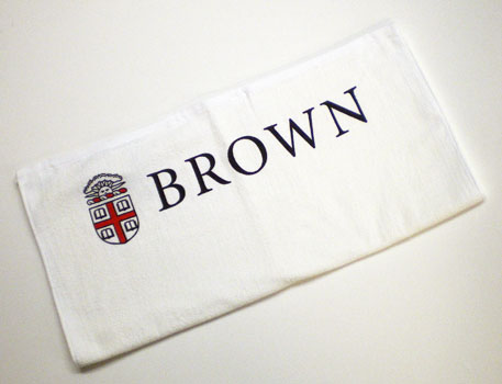 Image For White Crest Towel