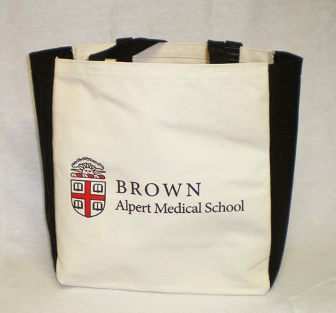 Image For Tote Bag - Alpert Medical School Canvas Tote Bag