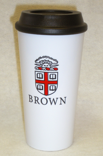 Image For Travel Tumbler - White with Seal