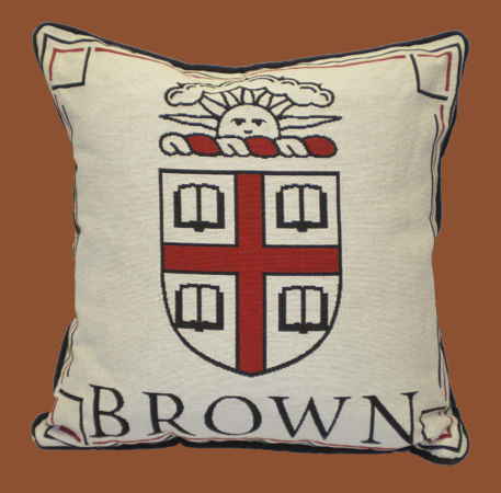 Image For Brown Seal Tapestry Pillow